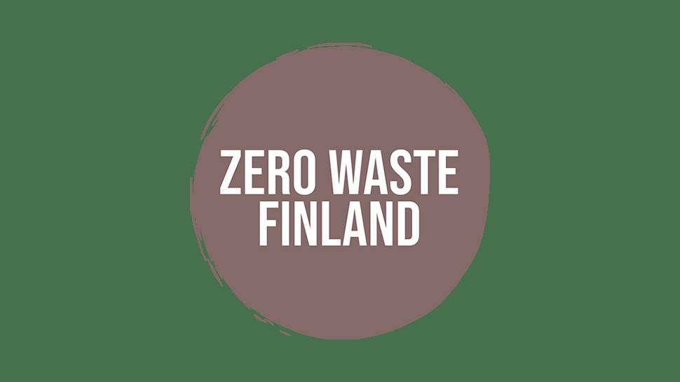 Zero Waste Finland ry logo kansikuva